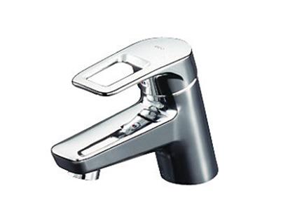 TOTO 洗面台付シングル混合水栓